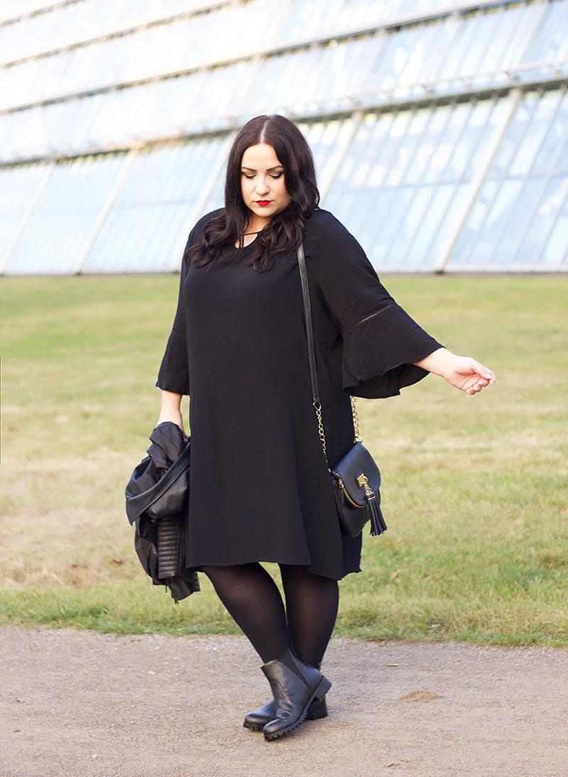 black boho plus size dress dressitcurvy plus size fashion blog. Black Bedroom Furniture Sets. Home Design Ideas