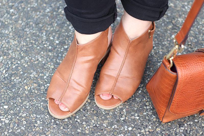Cognac Schuhe