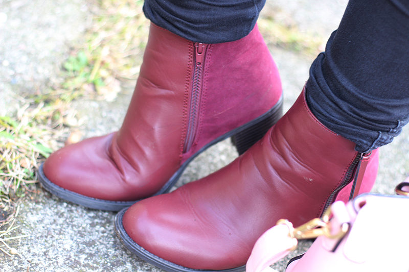 rote Booties