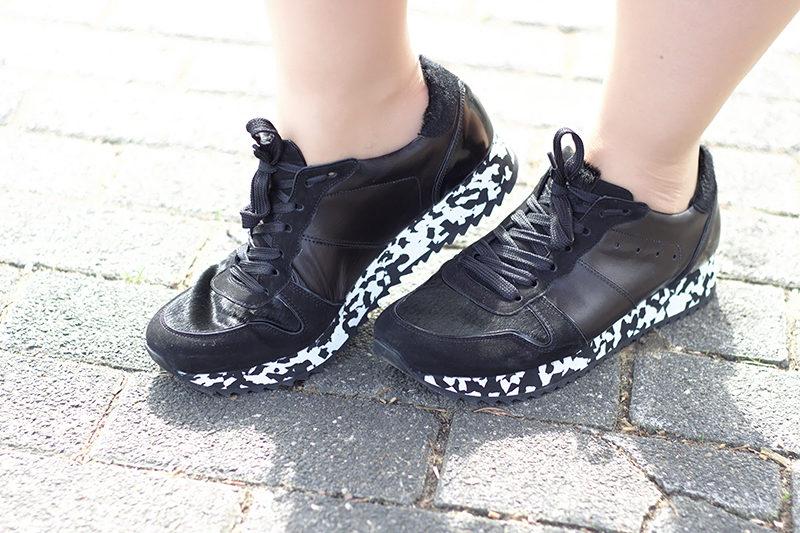 sneakers sohlen mit muster